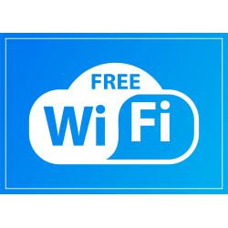 Tabliczka informacyjna A4 Free Wi Fi