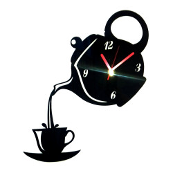 Zegar Ścienny Nowoczesny Plexi DUŻY 60x60 Kuchnia