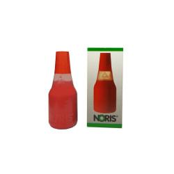 Tusz do pieczątek stempli Noris 25 ml czerwony