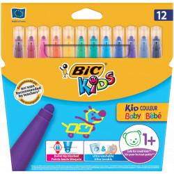 Flamastry Bic Kids Couleur Baby 12 kolorów