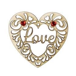 Walentynka zawieszka serce 1