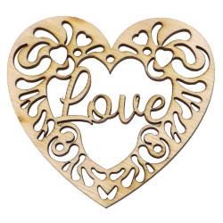 Walentynka zawieszka serce.