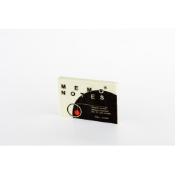 Notes 50x75 mm, 100 kartek, żółty