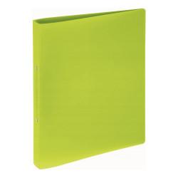 Segregator plastikowy A4 seria Trend 2-rin ziel. pastelowy