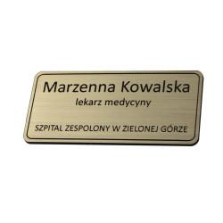 Identyfikator personalny - imienny na magnes