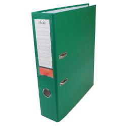 Segregator ekonomiczny zielony A4/75mm Oficio