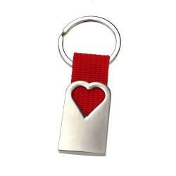Brelok metalowy serce MO7155-05