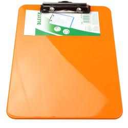 Deska z klipem leitz pomarańczowa 3971