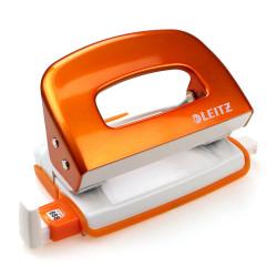 Dziurkacz Leitz mini WOW pomarańczowy