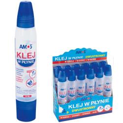 Klej w płynie dwustronny 34 ml AMOS