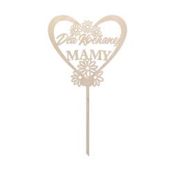 DZIEŃ MAMY tabliczka TOPPER prezent
