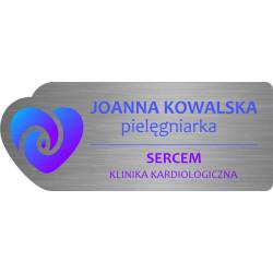 Identyfikator personalny - imienny na magnes z nadrukiem uv