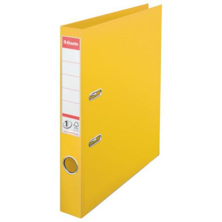 Segregator dźwigniowy żółty Esselte No.1 Power A4/50mm